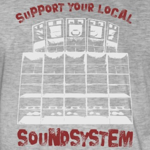 Support your local soundsystem - Men's Vintage T-Shirt