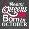 Beauty Queens Né en Octobre - T-shirt vintage Homme