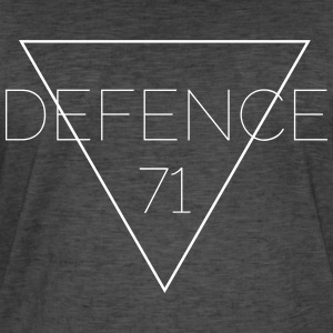 Defense 71 vit - Vintage-T-shirt herr