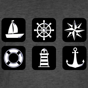 nautical - Men's Vintage T-Shirt