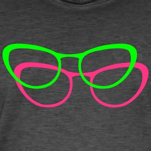 glasses - Men's Vintage T-Shirt