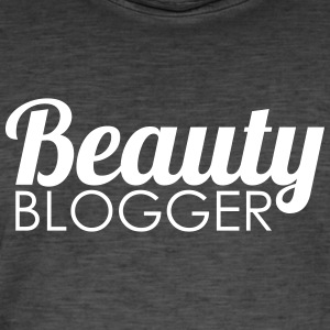 Beauty Blogger - Vintage-T-skjorte for menn