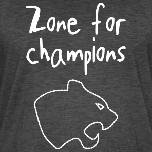 champion zone - Mannen Vintage T-shirt