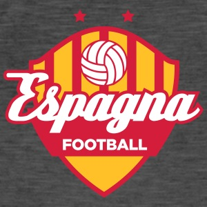 Spain Football Logo - Men's Vintage T-Shirt