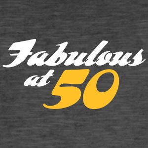 50 Years Old And Fabulous! - Men's Vintage T-Shirt
