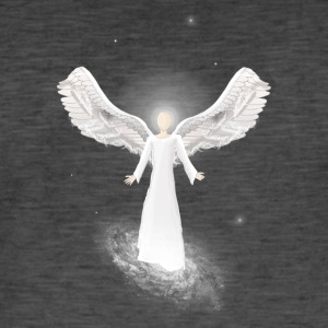 Guardian Angel - Vintage-T-skjorte for menn