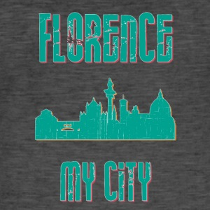 Firenze MY CITY - Herre vintage T-shirt