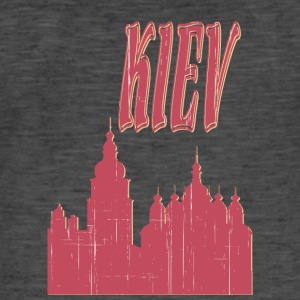 KIEV City - Vintage-T-skjorte for menn