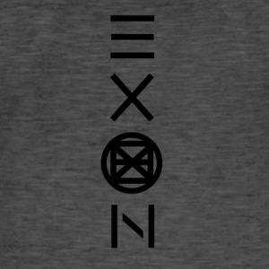 Exon Official Logo - Mannen Vintage T-shirt