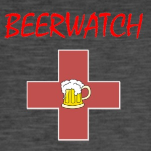 Beer Watch liten logo - Vintage-T-shirt herr