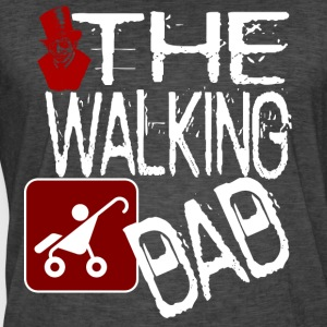 The Walking Dad- Halloween versjon shirt - Vintage-T-skjorte for menn