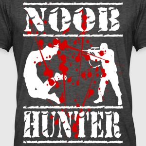 DAs gamin and paintball shirt Noob hunter - Men's Vintage T-Shirt