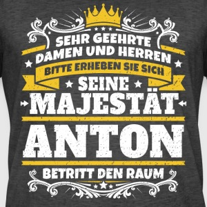 His Majesty Anton - Herre vintage T-shirt
