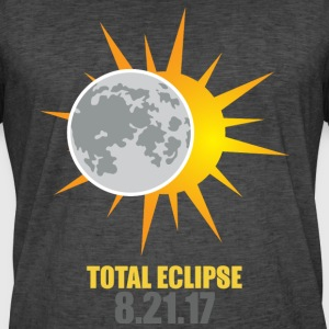 Solar Eclipse 2017 USA - Men's Vintage T-Shirt