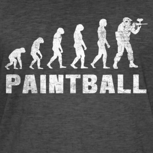 Evolution Paintball skjorta - Paintball T-tröja - Vintage-T-shirt herr