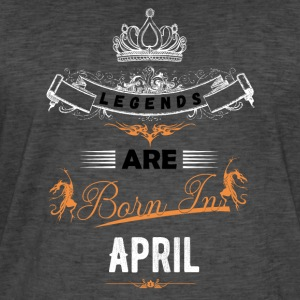 April - Men's Vintage T-Shirt