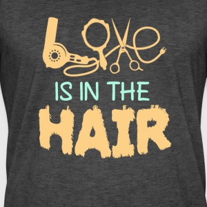 Love is in the Hair - Männer Vintage T-Shirt