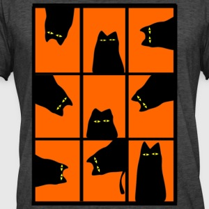 cat flap - Men's Vintage T-Shirt