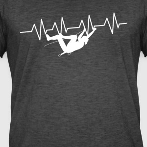 Heart beat climbing - Men's Vintage T-Shirt