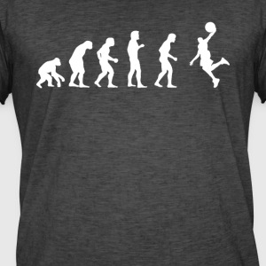 Evolution Soccer - Herre vintage T-shirt