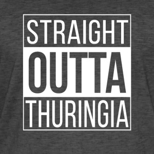 Straight Outta Thuringia - Men's Vintage T-Shirt