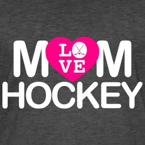 Mom love hockey