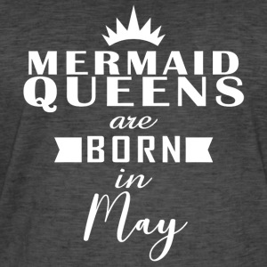 Mermaid Queens mai - Vintage-T-skjorte for menn