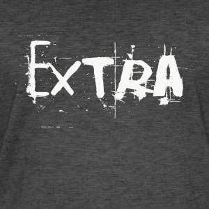 extra Collection - Mannen Vintage T-shirt