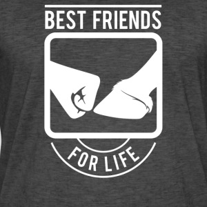 Best Friends for Life Ridning - Herre vintage T-shirt