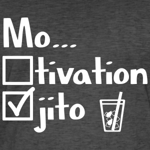 Motivation or Mojito? - Men's Vintage T-Shirt
