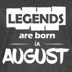 Legends are born in August - Men's Vintage T-Shirt