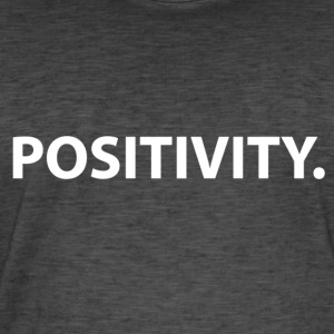 Positivity (white) - Men's Vintage T-Shirt