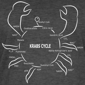 Krabs Cycle - Men's Vintage T-Shirt