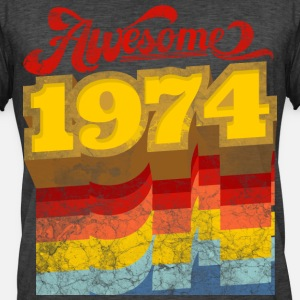 awesome 1974 birthday gift retro vintage style