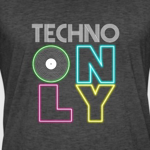 TECHNO PARTY - Männer Vintage T-Shirt
