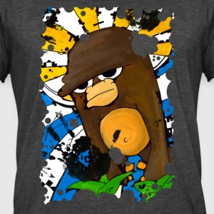 Holy Monkey - Mannen Vintage T-shirt