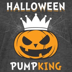 Halloween Pumpking - T-shirt vintage Homme