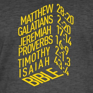 Bible verses - Men's Vintage T-Shirt