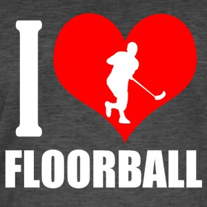 Floorball - T-shirt vintage Homme