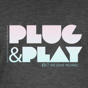 Collection PLUG & PLAY - Men's Vintage T-Shirt