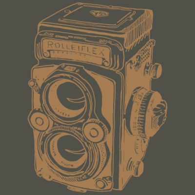 Vintage Rolleiflex brown