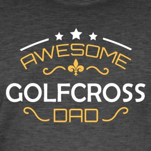 Papa Golf Cross - T-shirt vintage Homme