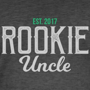 New Uncle Rookie Uncle gift - onkel - Männer Vintage T-Shirt