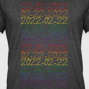 22-02-2022 LGBT Colors - Men's Vintage T-Shirt