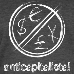 anticapitalista - Men's Vintage T-Shirt