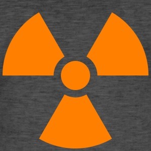 Nuclear sign - Men's Vintage T-Shirt