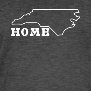 North Carolina Home Shirt - Männer Vintage T-Shirt
