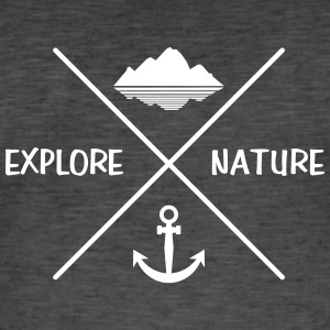 Explore nature anker - Men's Vintage T-Shirt