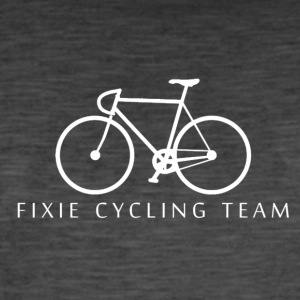 Fixie Cycling Team - Vintage-T-shirt herr