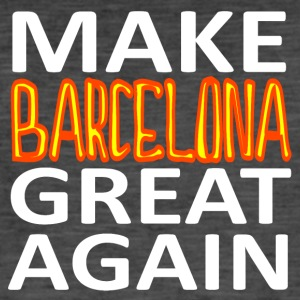 MAKE BARCELONA GREAT AGAIN - Männer Vintage T-Shirt